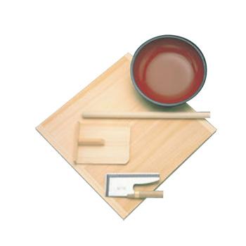 麺打ちセット A-1015【代引き不可】【こね鉢】【麺打ち】【蕎麦】【うどん】【麺棒】【めん棒】