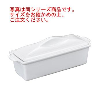 陶器製 ホワイトテリーヌ L【オーブンウェア】【ベーキングウェア】【ベイキングウェア】【耐熱容器】
