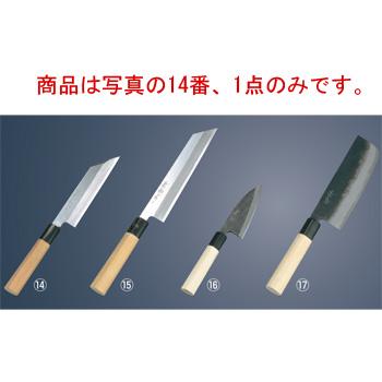兼松作 日本鋼 細工庖丁 18cm【包丁】【キッチンナイフ】【和包丁】