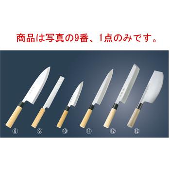 兼松作 日本鋼 附庖丁 21cm【包丁】【キッチンナイフ】【和包丁】