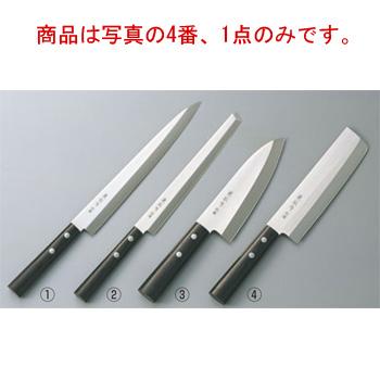兼松作 別撰 ステンレス 薄刃庖丁 16.5cm【包丁】【キッチンナイフ】【和包丁】