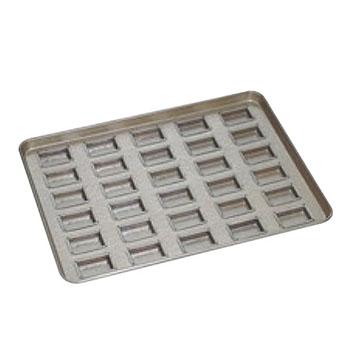 シリコン加工 トロフィー型 天板(30ヶ取)【業務用】【オーブン天板】