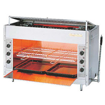リンナイ ペット赤外線上火グリラー RGP-46SV LP【代引き不可】【業務用】【焼物器】【グリラー】