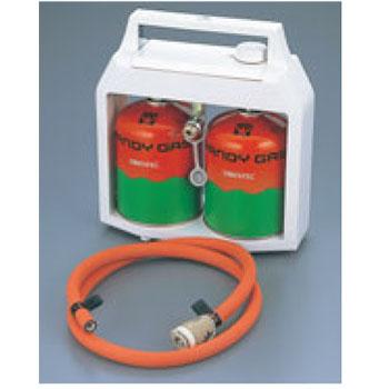 簡易ガス供給機 サファイヤー(H)ボンベ2本付【業務用】【コンロ】【ロースター】