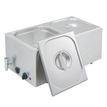 EBM 電気式フードウォーマー(湯煎式)YFK-2(1/2×2)【業務用】【フードウォーマー】【ウォーマー】