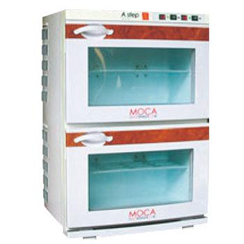 業務用温冷庫 MOCA(前開き式)2段 CHC-34F【代引き不可】【業務用】【タオルウォーマー】【タオルクーラー】