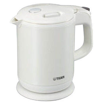 タイガー 蒸気レス電気ケトル PCH-G060 パールホワイト【給湯ポット】【給湯器】【TIGER】