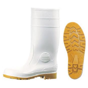 安全長靴 ワークエース W1000 白 23.5cm【厨房長靴】【業務用長靴】【安全長靴】