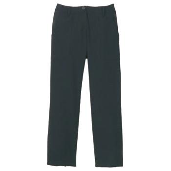 ノータックパンツ(女性用)KP008L-7 黒 11号【スラックス】【ズボン】【パンツ】