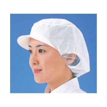 エレクト・ネット帽(20枚入)EL-402W M ホワイト【衛生帽】【衛生対策】【使い捨てキャップ】