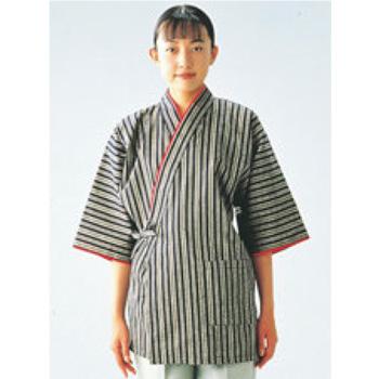 女性用 和風ハッピーコート(調理服)BC1362-7 LL【コックコート】【作務衣】【和風コート】
