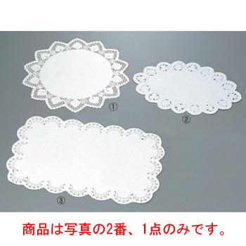 ドイリー レースペーパー 小判型(500枚入)20号【ラッピング用品】【食品包装】【敷紙】