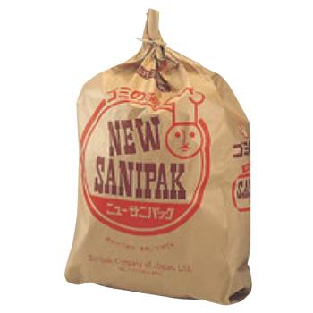 紙製 サニパック(特殊防水加工)大 A-32(100枚入)【ゴミ袋】【ごみ袋】【防水ゴミ袋】
