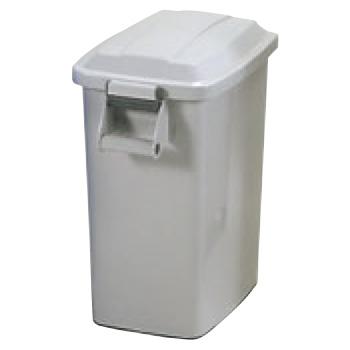 厨房ペール ヒール付 K-45 グレー(GR)【ゴミ箱】【ダストカート】【キャスター付きゴミ箱】