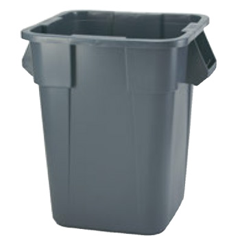 スクウェアー ブルート・コンテナー 3526 グレイ【代引き不可】【ゴミ箱】【ダストボックス】【ごみ箱】
