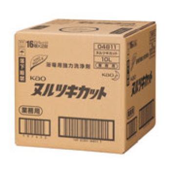 花王 浴場用強力洗剤 ヌルツキカット 10L【衛生用品】【業務用】【洗剤】