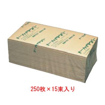 トウカイ ペーパータオル ジップタオル(250枚×15束)茶【ペーパータオル】【衛生用品】【業務用】