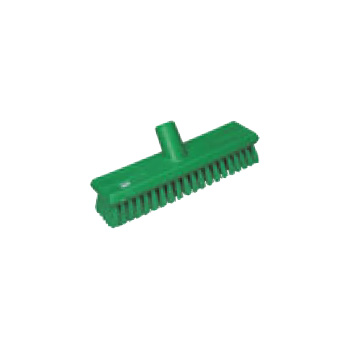 ヴァイカン デッキブラシ ソフトタイプ 7043 グリーン【清掃用品】【ブラシ】【掃除道具】