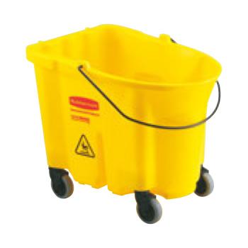ラバーメイド ブルートモップバケット7570-88 イエロー【清掃用品】【モップ】【掃除道具】