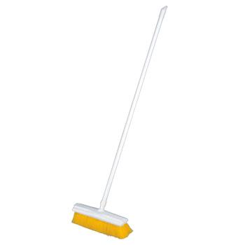 トゥーセル カラーブルーム(ハンドル付)1451 イエロー【清掃用品】【ブラシ】【掃除道具】