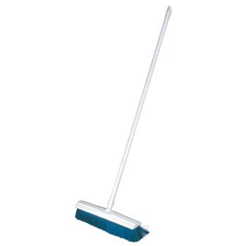 トゥーセル カラーブルーム(ハンドル付)1454 ブルー【清掃用品】【ブラシ】【掃除道具】