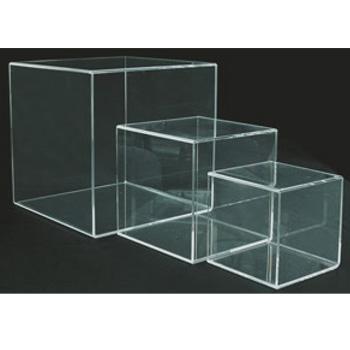 アクリルBOX サイコロトーメー 4面体 51769-4 大【ディスプレイ】【キッチン用品】