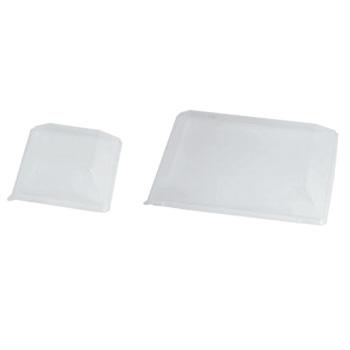 EBM-19-2109-10-002 ソリア クォーツプレート用蓋 200入 クリア デザート皿 品質保証 PS30589 デザートプレート 185用 全国一律送料無料
