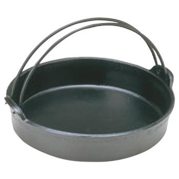 アルミ 電磁 すきやき鍋 ツル付 24cm【IH対応】
