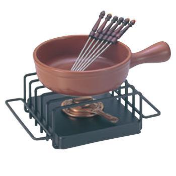 チーズフォンデュセット T-210 陶器鍋付【業務用】【フォンデュ鍋】
