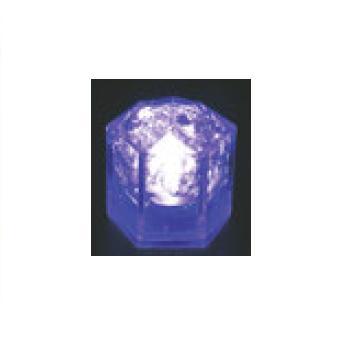 光る氷 ライトキューブ・クリスタル(24入)ブルー【保冷材】