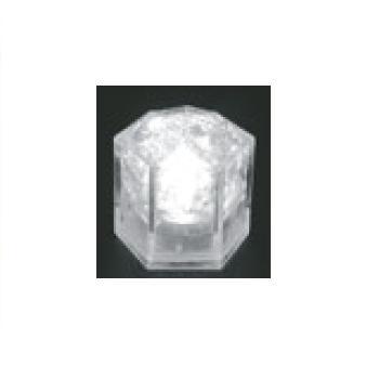 光る氷 ライトキューブ・クリスタル(24入)ホワイト【保冷材】