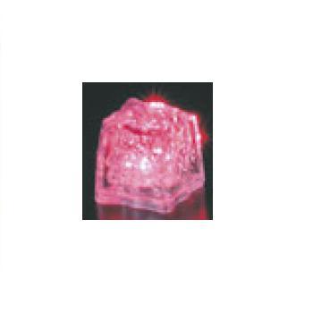 光る氷 ライトキューブ・オリジナル(24入)レッド【保冷材】