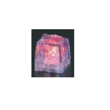 光る氷 ライトキューブ・オリジナル(24入)オレンジ【保冷材】