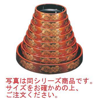 寿し桶 梨地御所車 尺3寸 7-442-47【寿し桶】【和食器】【漆器】