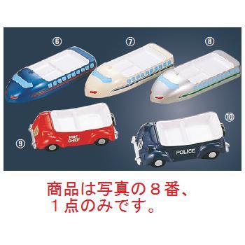 メラミン ランチ皿 ニュー新幹線 シルバー【メラミン食器】【皿】