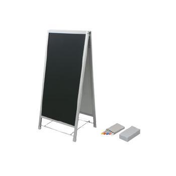 A型ブラックボード(両面タイプ)BSW【立て看板】【黒板】【メニュー看板】