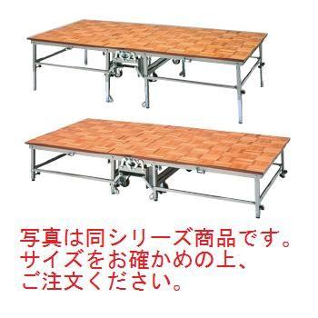 W型 ポータブルステージ WPS-600(800)【代引き不可】【ポータブルステージ】【会議室】【宴会場】【ホール備品】