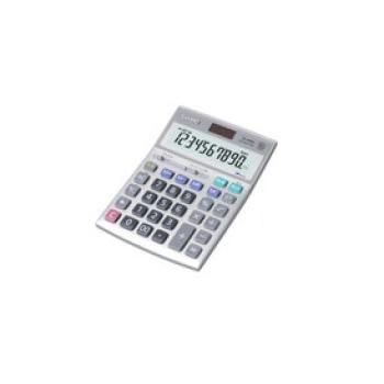カシオ 電卓 DS-10WK【事務用品】【事務電卓】【カリキュレーター】