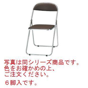 折りたたみ椅子 CF-100M(6脚入)ブラウン【代引き不可】【折りたたみ椅子】【パイプ椅子】【スチール椅子】【ホール備品】【会議室備品】