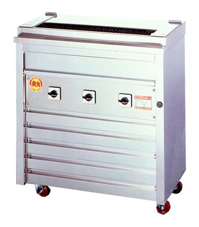 ヒゴグリラー 焼鳥専用タイプ 床置型 3P-208K【代引き不可】【業務用】【焼台】【串焼き】【やきとり】【電気グリラー】【下火】【焼き鳥】