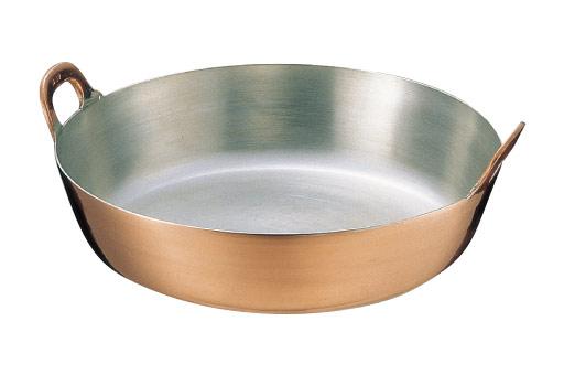 11-0067-0513 銅 商品追加値下げ在庫復活 メイルオーダー 揚鍋 30cm