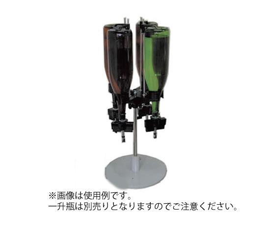 ワンショット メジャー マルチ2 スタンドタイプ 4連型【代引き不可】【ディスペンサー】【業務用】
