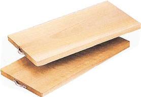 朴材まな板 600×300×24mm【まな板】【マナ板】【業務用】【木】【うなぎ用】【鰻用】【ウナギ用】【業務用】