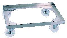 18-8 天板ドーリー 8枚取用【代引き不可】【ステンレス】【SUS304】【業務用】