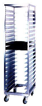 ステンレス シングルラック 6×20 (20枚差)【代引き不可】【ステンレス】【ラックカート】【業務用】