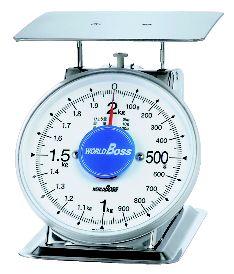 はかり ワールドボス 錆びない上皿 はかり SA-500S【秤】【スケール】【計量】【アナログ】【調理小物】【業務用】