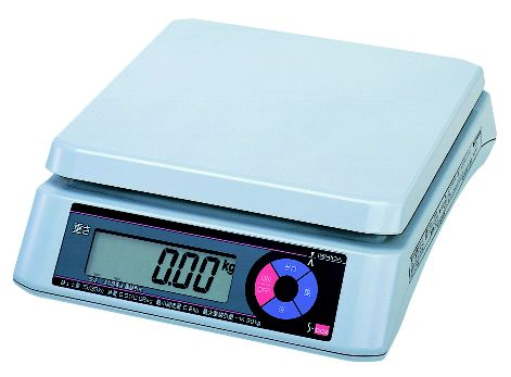 イシダ 上皿型 重量はかり S-box 30kg【デジタルばかり 量り スケール】【業務用】