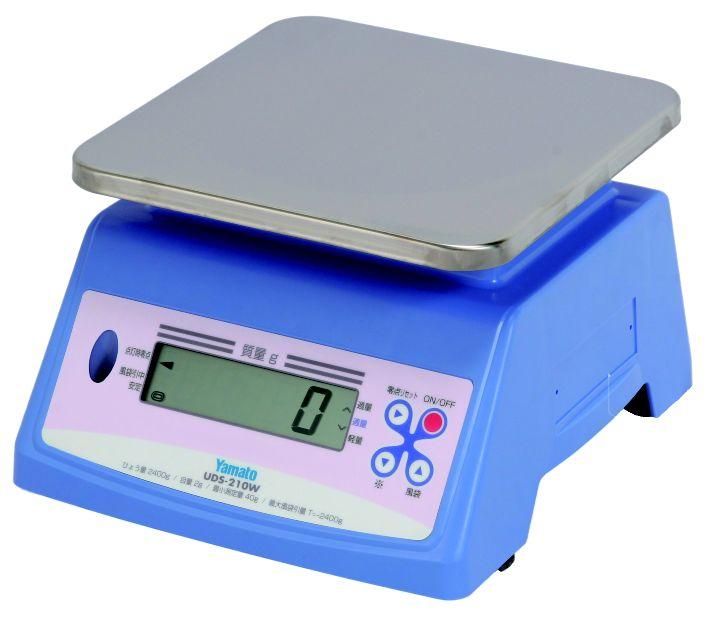 防水型デジタル 上皿自動はかり UDS-210W 20kg【はかり】【デジタルはかり】【量り】【秤】【スケール】【業務用】