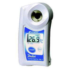 PAL-1 ポケット糖度・濃度計【糖度計】【濃度計】【ATAGO】【アタゴ】【デジタル計測】【業務用】