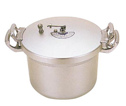 ホクア 業務用アルミ圧力鍋 15L【代引き不可】【アルミ圧力鍋】【業務用鍋】【ホクア】【業務用】